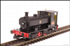 Hattons H4-AB14-001 Andrew Barclay 0-4-0ST 14 2047 705 in BR black with early crest